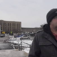 Ray Roe stands outside the Auburn Correctional Facility as he talks about his hardships while incarcerated, and the direction he found in life through CPEP