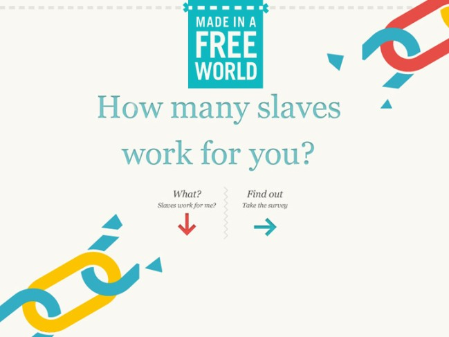 Courtesy SlaveryFootprint.org